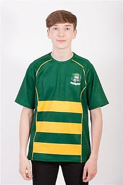 Bishopston Comprehensive Boys Short Sleeve Rugby Jersey