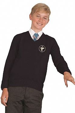 Bishop Vaughan School V-Neck Jumper